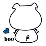 LINE スタンプ第21弾「i am booboo2」  シリーズ絶賛・好評につきPart2追加!!