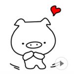 LINE スタンプ第43弾「I am ブーNO.2☆動くスタンプ!」 絶賛・好評につき発売!!