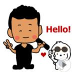 LINE スタンプ第44弾「どーも!オヤジですが・・・☆withレオ☆動くスタンプ!」 絶賛・好評につき発売!!