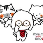 LINE スタンプ第47弾「にゃんlove5 with れお★日常スタンプ」 絶賛・好評につき発売!!