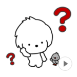 LINE スタンプ第54弾「可愛く動くよ!小犬と小鳥☆「レオとムギ」」 絶賛・好評につき発売中!!