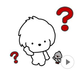 可愛く動くよ!小犬と小鳥☆「レオとムギ」