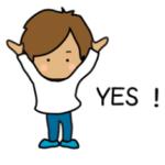 LINE スタンプ第58弾「やんちゃな男の子NO.2☆動くスタンプ」 絶賛・好評につき発売中!! クリエイティブ事業部